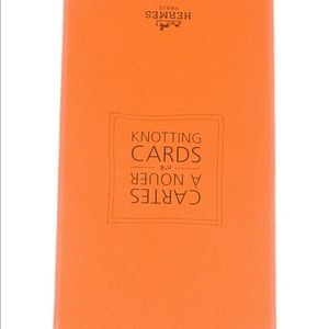 Hermès Knotting Cards